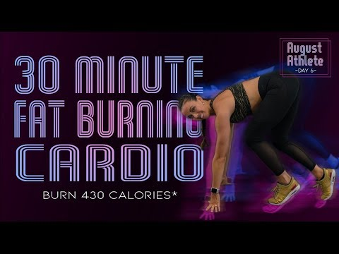 30 Minute FAT BURNING CARDIO WORKOUT! 🔥Burn 430 Calories!* 🔥 Sydney Cummings