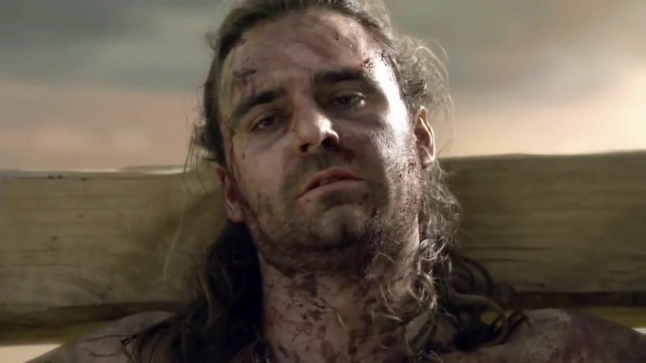 Spartacus: War of Damned - Death Scene - Erkeklerde Ağlar ...