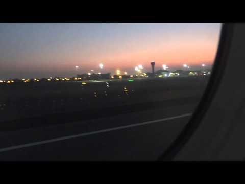 Air arabia landing in sharjah airport