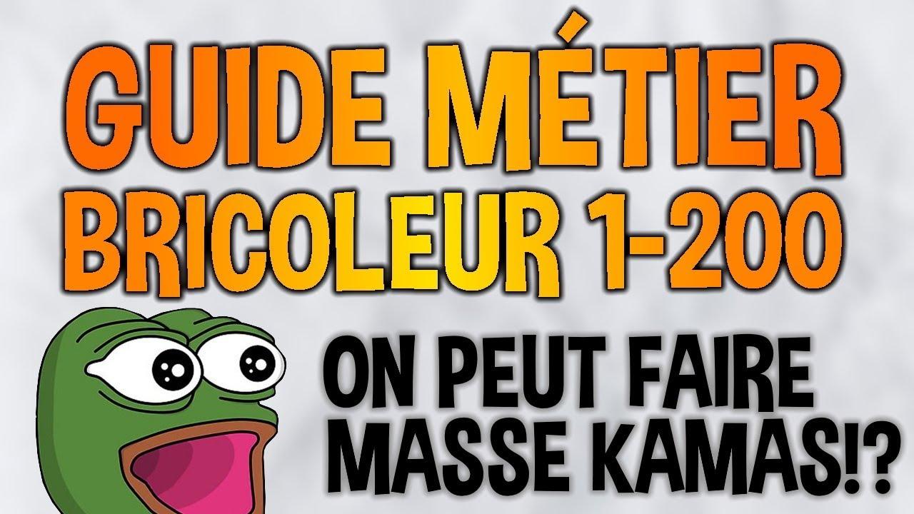 Dofus Guide Metier Bricoleur 1 200 5m7 De Benefice Pour Se Monter 200 Youtube