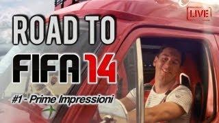 Road to FIFA 14 - Live Demo Gameplay ITA - Prime Impressioni