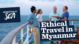 Fall 2018 talks ethical travel in Myanmar