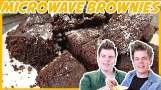 Easy Microwave Brownie | Nikinsammy