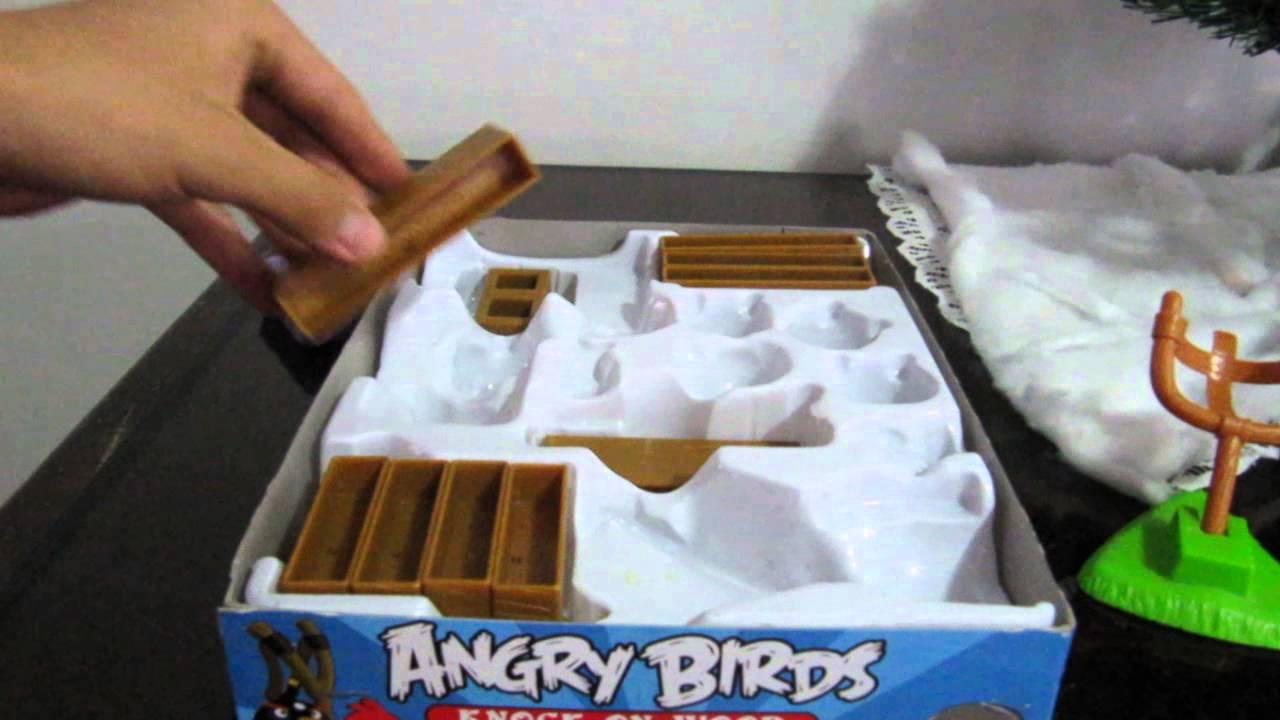 angry birds caja Knock On Wood juego de mesa espaol  YouTube