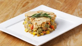 Veggie-Packed Chickpea Pot Pie