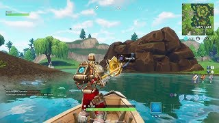 Fortnite Battle Royale - Season 6 Week 7 Hunting Party Secret Battlestar Location