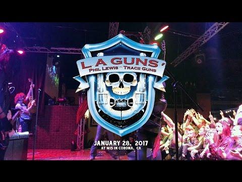 LA Guns at M15 in Corona, CA 1-28-17...