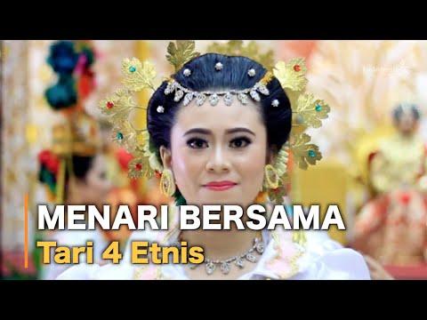 Tari 4 Etnis (Bugis, Makassar, Toraja, Mandar)