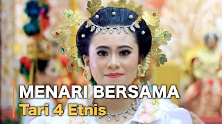 Video Tari 4 Etnis (Bugis, Makassar, Toraja, Mandar) download MP3, 3GP, MP4, WEBM, AVI, FLV November 2017