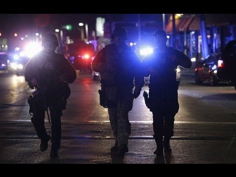 4/19/13 BOSTON BOMBING SUSPECTS AND POLICE SHOOTOUT IN WATERTOWN, MASS