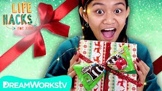 Gift Wrap You Can Eat + More Holiday Hacks | LIFE HACKS FOR KIDS