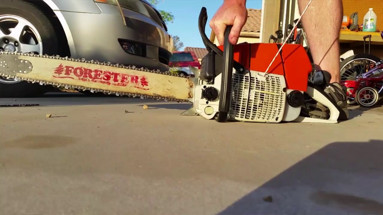 YouTube deleted this MS660 Chainsaw video