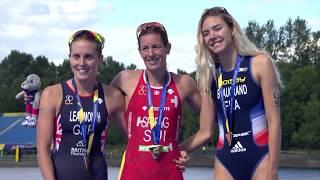 Video 2018 European Championships Triathlon Elite Women Highlights download MP3, 3GP, MP4, WEBM, AVI, FLV Oktober 2018