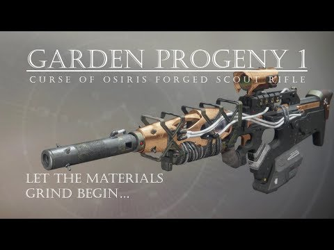 Destiny 2 - Garden Progeny 1 - Osiris Forged Kinetic Scout - PVP Gameplay Review