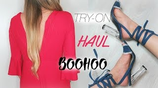 TRY-ON HAUL - BOOHOO