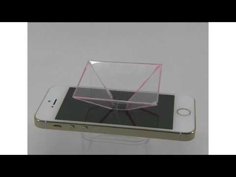 Голограмма своими руками / Pyramid Hologram / DIY