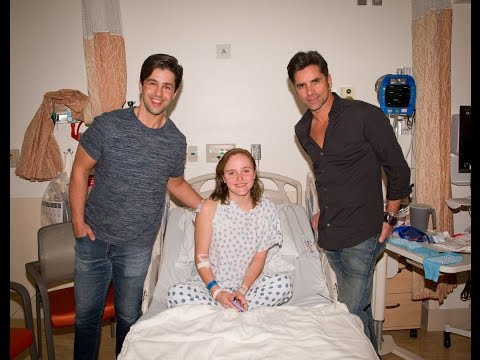 John Stamos & Josh Peck Surprising This Girl at Long Beach Memorial Hospital  from People.com