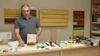 видео герметик для швов деревянного дома