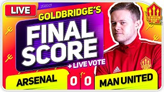 GOLDBRIDGE! Arsenal 0-0 Manchester United Match Reaction