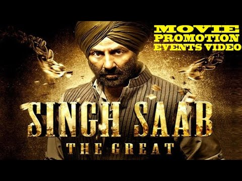 """Singh Saab the Great"" (2013) Promotion Events Full Video 