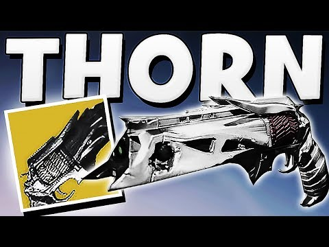 Destiny 2 - THORN RETURNS & NEWS | Earth Raid , Rose Handcannon & Gambit Leak !!