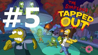 The Simpsons: Tapped Out - Treehouse of Horror Update Gameplay Video
