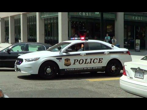 United States Secret Service Police cruiser responding [Washington D.C. | 7/2013]