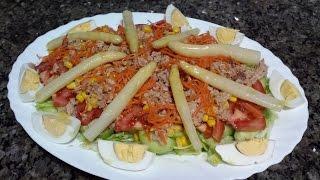 Салат Валенсианский. Испанская кухня