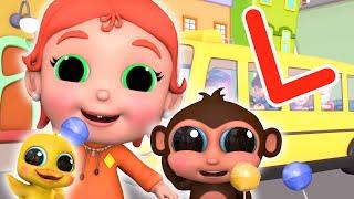 Lilly Loves Lollipops | Phonics Letter L | Clap Clap Baby