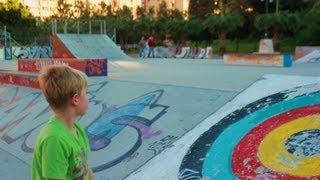 Skate Kid Schaeffer McLean - Skate Trip December 2012 Part 2