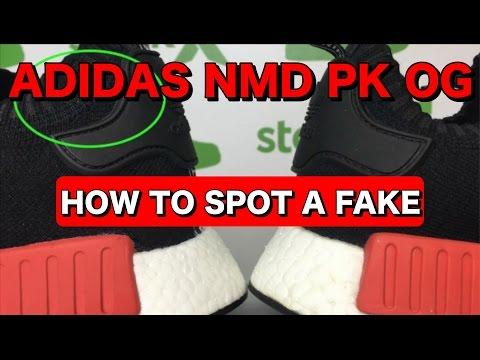 ec49dfa308f REAL VS FAKE NMD PK OG | How To Spot Fake/Replica NMD's - YouTube