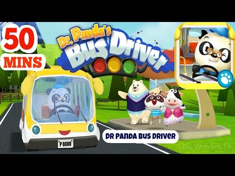Dr Panda Bus Driver | Educational iPad app for Kids | Dr.Panda | Full Game Play Over 50 Minutes