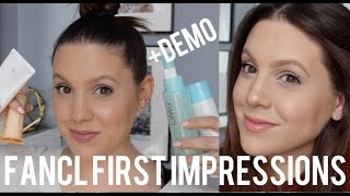 TRYING JAPANESE SKINCARE: FANCL FIRST IMPRESSIONS (+demos!!) | MELSOLDERA