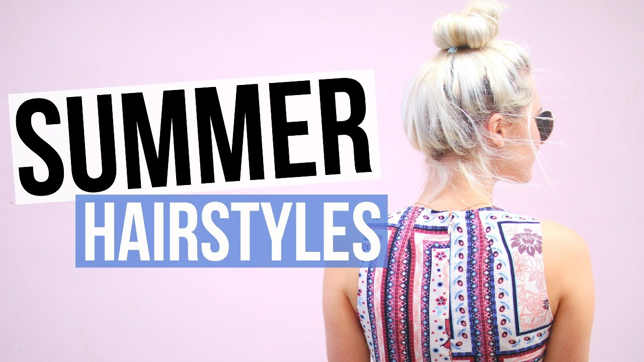 5 easy & cute summer hairstyles