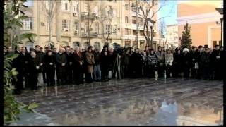 Opening ceremony of the monument to Gara Garayev
