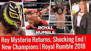 Rey Mysterio Returns Royal Rumble 2018 WWE Royal Rumble 2018 Highlights HD 30 Man Royal Rumble 2018