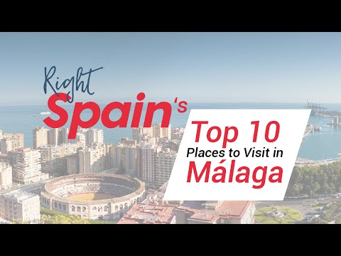 Top 10 Places To Visit In Málaga, Spain 2016.