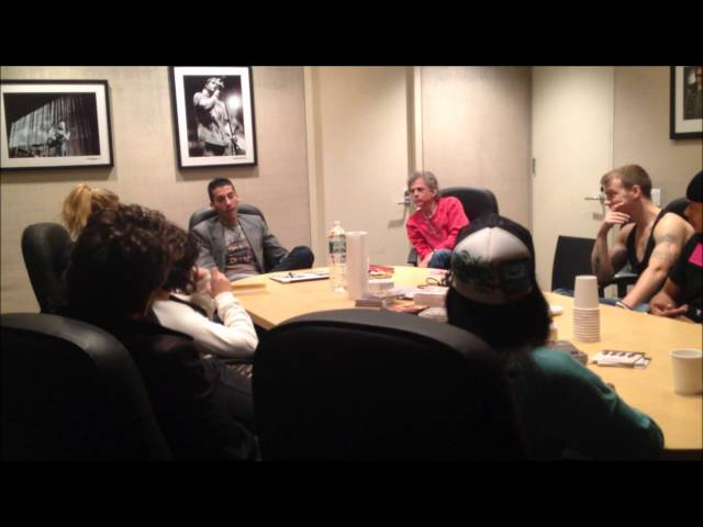 Road Recovery Masterclass at Universal/Republic Records