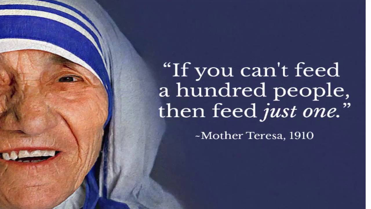 Top 10 Inspirational Quotes From Mother Teresa