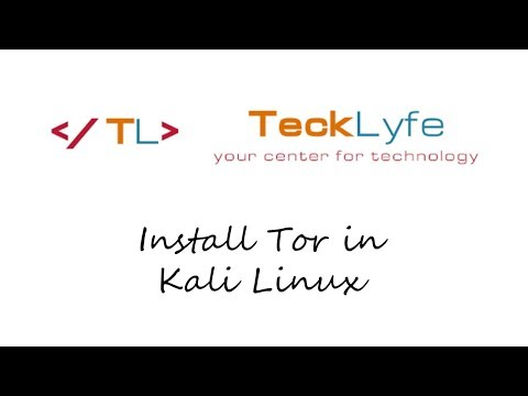 How To Install Tor Browser In Kali Linux - TeckLyfe