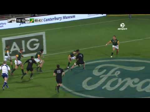 HIGHLIGHTS: All Blacks v South Africa