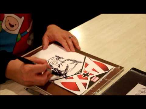Ron Lim sketches Wolverine