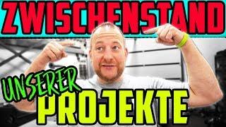 ZWISCHENSTAND unserer Projekte! - VW Passat SYNCRO springt an! - Fehlersuche am Audi S2!