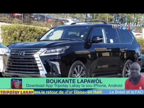 Detay sou $150,000 Lexus LX 570 Nenel Cassy ak Bauplan achte tou blende