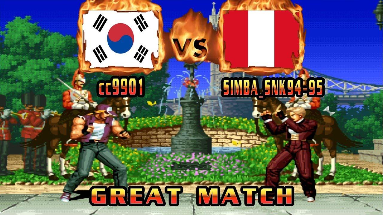 King of Fighters 94 - cc9901 (KOR) VS (PER) SIMBA_SNK94-95 [kof94] [Fightcade] ザ・キング・オブ・ファイターズ'