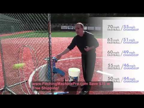 Jugs Changeup Super Softball Pitching Machine Free Shipping