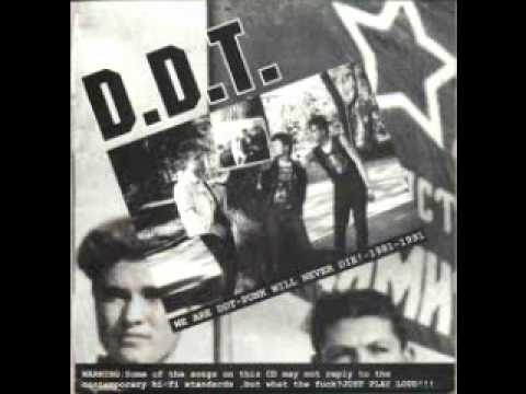 D.D.T. - We Are DDT Punk Will Never Die!-1981-1991 (FULL ALBUM)