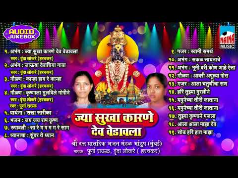 Jya Sukha Karane dev vedavala | ज्या सुखा कारणे देव वेडावला | Audio Jukebox