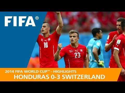 HONDURAS v SWITZERLAND (0:3) - 2014 FIFA World Cup™