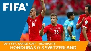 Honduras v switzerland (0:3) - 2014 fifa world cup™